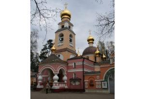 Церковь Спаса Преображения в Переделкине