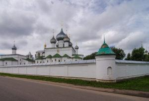 Воскресенский мужской монастырь (г. Углич)