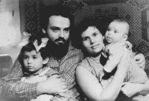 Протоиерей Александр Мень и матушка Наталья