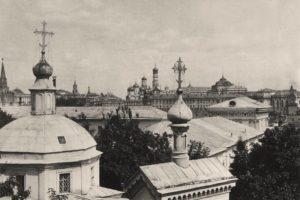Церковь Николая Чудотворца в старом Ваганькове на дворе Румянцевского музея