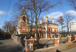 Церковь Рождества Пресвятой Богородицы в с. Владыкино