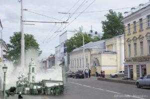 Восстановление колокольни в старинном храме Илии Пророка в Костроме
