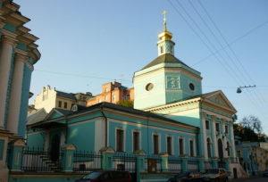 Церковь Троицы Живоначальной в Серебряниках