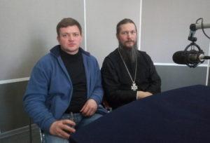 протоиерей Дмитрий Кувырталов и Сергей Фомин