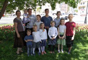 Александр, Валентина и 12 детей – беженцы из Донецкой области