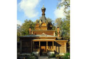 Церковь Тихона Задонского в Сокольниках на Ширяевом Поле