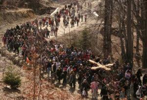 Цыганский крестный ход