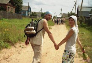 Крестный ход по берегам реки Тьмы