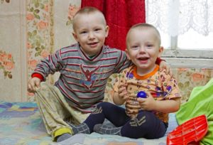 Печка для матери-одиночки Людмилы и троих детей