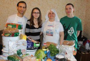 «Группа Милосердие — Радость моя»: помощь малоимущим семьям
