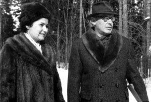 Михаил и Гаянэ Ботвинники