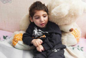 Реабилитация для Микаэля: первый шаг и первое слово