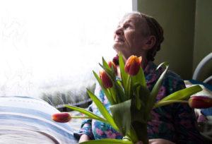 Волонтёры в дома престарелых