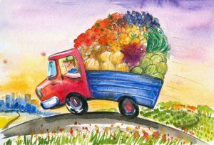 Фонд продовольствия «Русь»: еда для нуждающихся