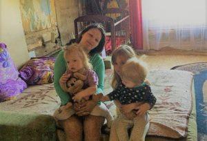 Тепло в дом Олега, Екатерины и троих детей