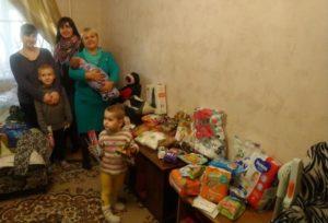 Помощь многодетной маме Евгении Шептяковой