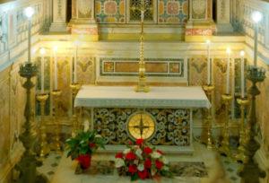 Гробница с мощами святого апостола Матфея