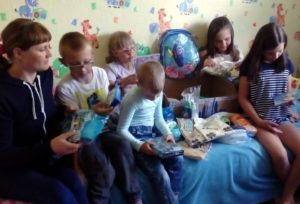Помощь многодетной семье из Белгородской области