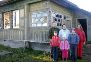 Сергей, Евгения и четверо детей: помощь семье в кризисной ситуации