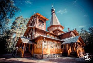 Казанский храма в п. Вырица