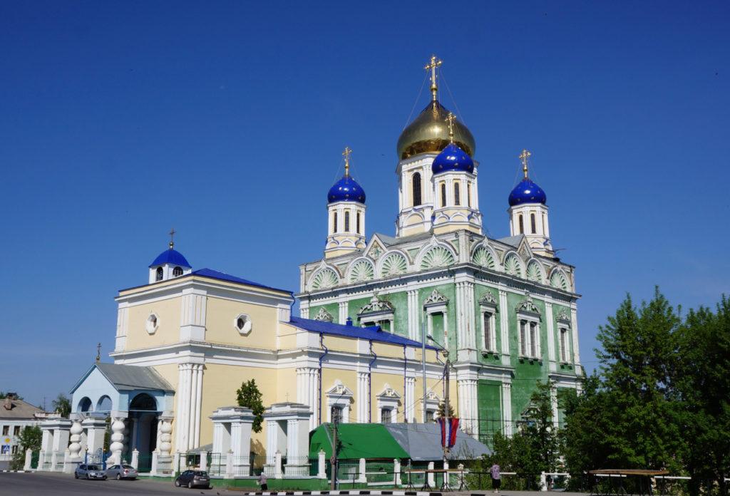 Вознесенский Кафедральный Собор в городе Ельце