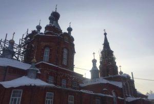 Ремонт старинного храма в Тверской области
