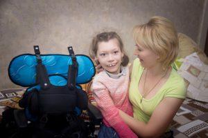 Инвалидное кресло для Анастасии Глуховой