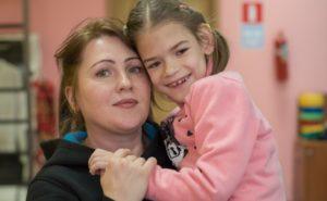 Комплексная реабилитация для Альбины, чтобы девочка научилась ходить и говорить