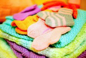 Носочки для недоношенных детей от проекта «Уютка»