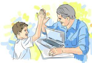 Проект «Наставники»: программисты в помощь детям
