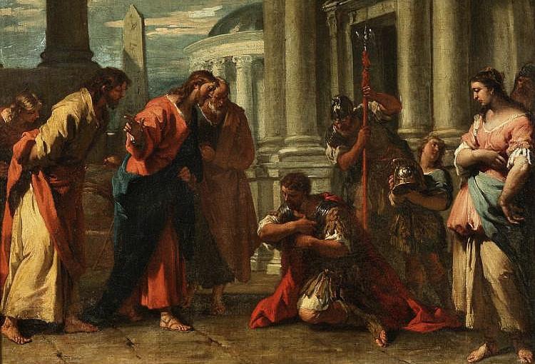 исцеление слуги сотника